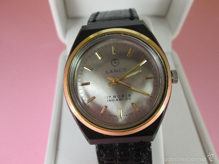 Relojes: ANTIGUO RELOJ-SUIZO-LANCO-FUNCIONANDO PERFECTAMENTE-VER FOTOS. - Foto 12 - 53557518