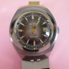 Relojes: ANTIGUO RELOJ-DUWARD TRIUMPH-PERFECTO ESTADO-FUNCIONANDO-VER FOTOS.. Lote 108673048