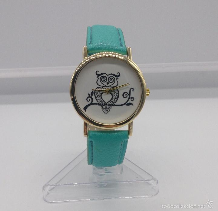 Moderno reloj de pulsera para mujer con buho en comprar relojes otras marcas en todocoleccion - Relojes de cocina modernos ...