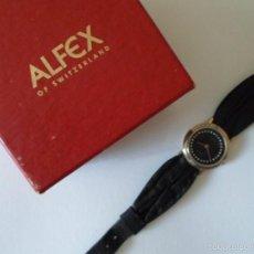 Relojes: RELOJ DE MUJER - ALFEX - AÑOS 80. Lote 57619722