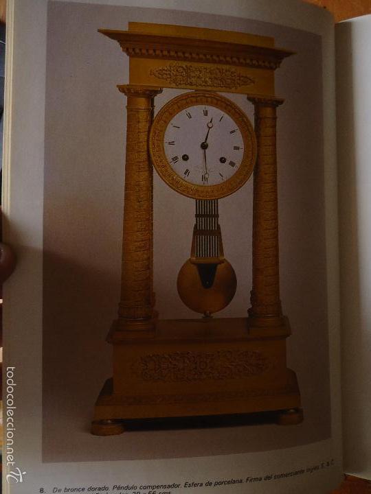 Relojes: hoja recorte grafico reloj antiguo , relojes antiguos fotografias en blanco y negro trasera en color - Foto 2 - 57846675