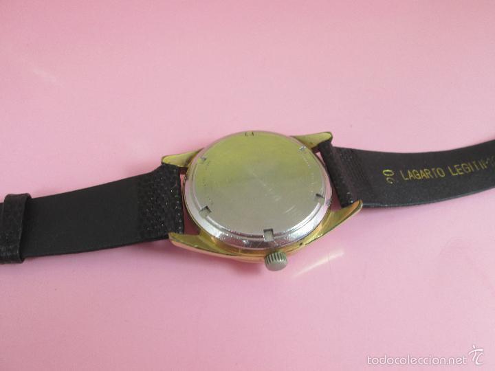 Relojes: 13-precioso reloj-suizo-wittnauer electronic transistorized-buen estado-funcionando-correa piel - Foto 8 - 57882223
