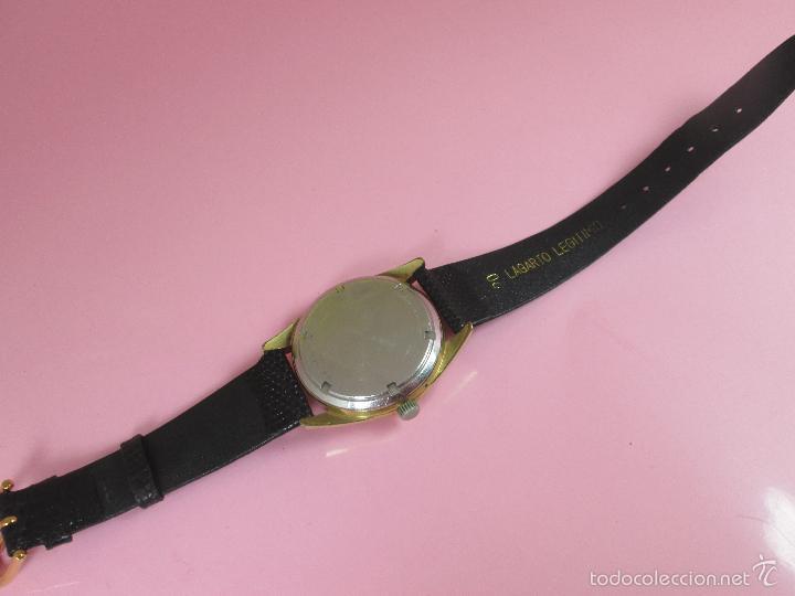 Relojes: 13-precioso reloj-suizo-wittnauer electronic transistorized-buen estado-funcionando-correa piel - Foto 15 - 57882223