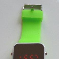 Relojes: RELOJ **LED WATCH**. CORREA EN SILICONA Y PANTALLA LED. DIGITAL. Lote 57919132