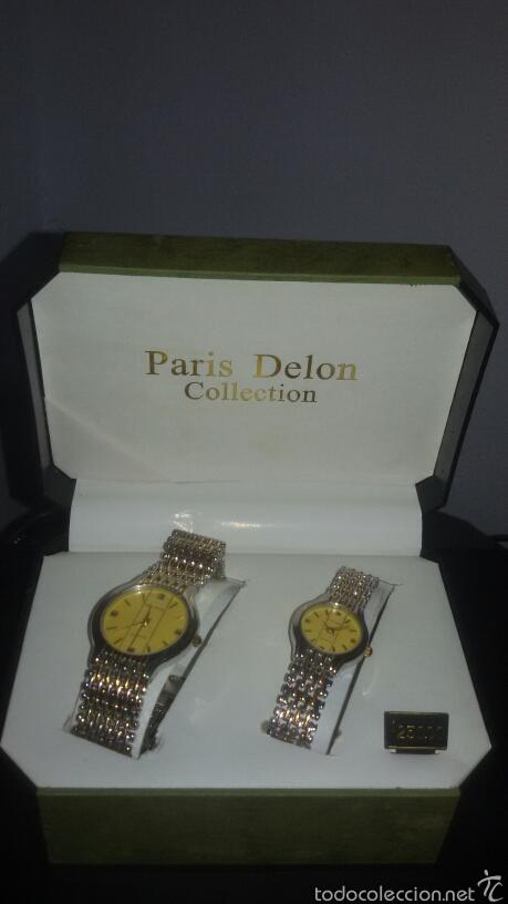 Pareja Delon Paris De Bonita En Relojes Collection Vendido Subasta 9eWIYHED2