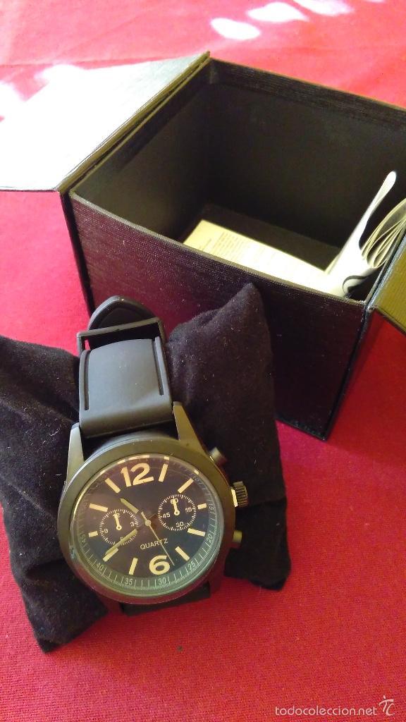 Relojes: Reloj de cuarzo nuevo, a estrenar. 42 mm diámetro. Con instrucciones y caja. - Foto 2 - 58158947