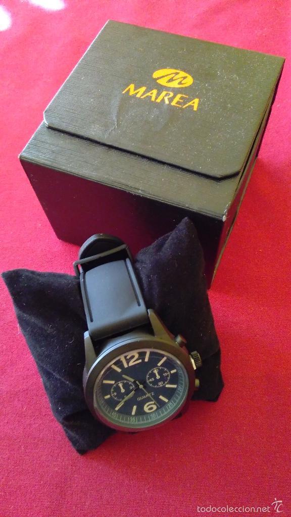 Relojes: Reloj de cuarzo nuevo, a estrenar. 42 mm diámetro. Con instrucciones y caja. - Foto 3 - 58158947
