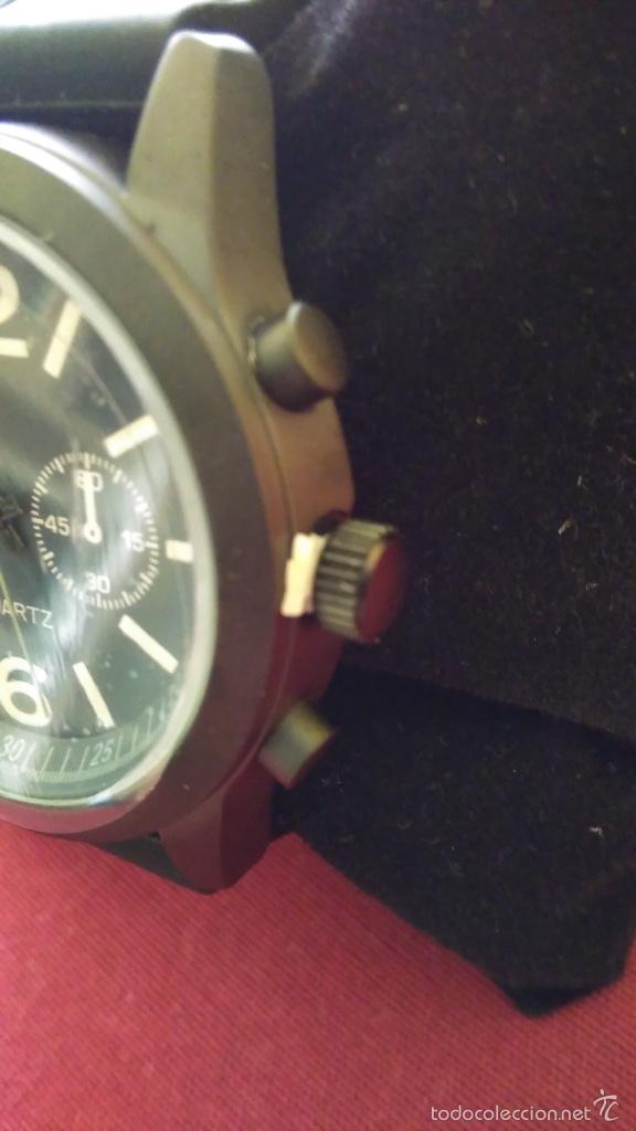 Relojes: Reloj de cuarzo nuevo, a estrenar. 42 mm diámetro. Con instrucciones y caja. - Foto 4 - 58158947