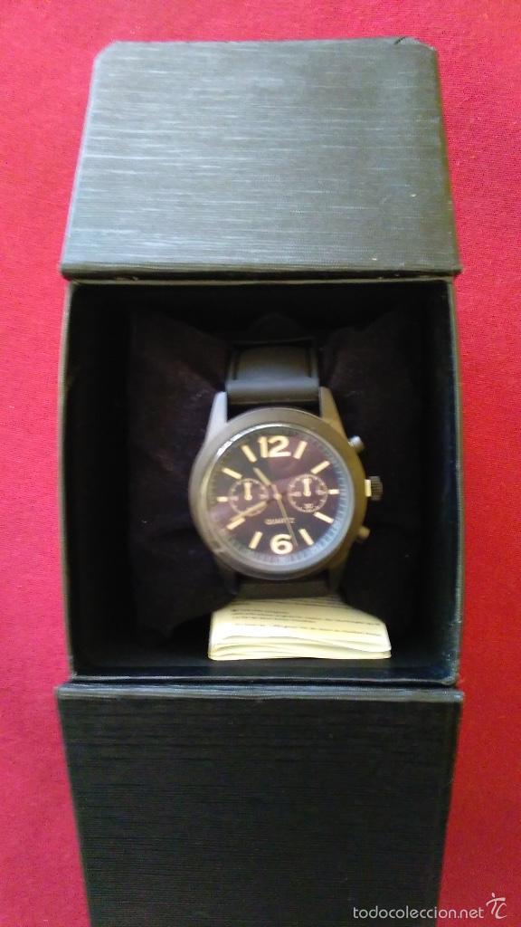 Relojes: Reloj de cuarzo nuevo, a estrenar. 42 mm diámetro. Con instrucciones y caja. - Foto 5 - 58158947