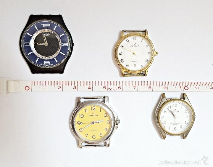 LOTE DE 4 RELOJES SURTIDOS. (Relojes - Relojes Actuales - Otros)