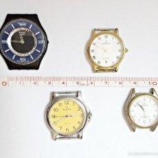 Relojes: LOTE DE 4 RELOJES SURTIDOS.. Lote 58328790