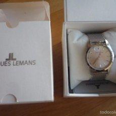 Relojes: RELOJ JACQUES LEMANS NUEVO MODELO NOSTALGIE,HOMBRE.. Lote 58468195