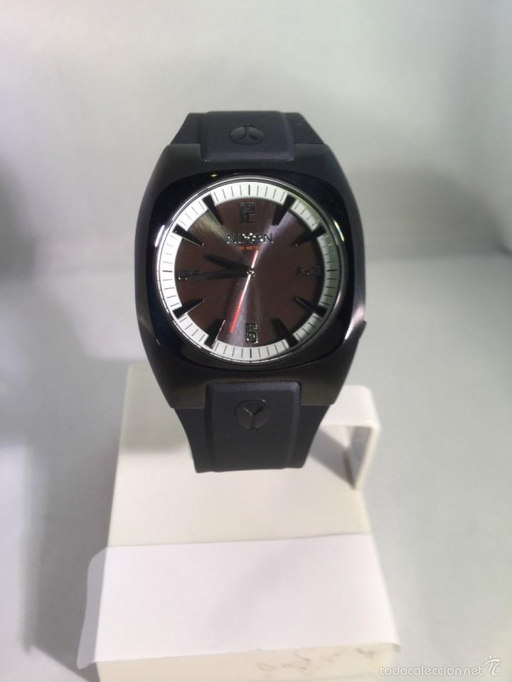 Relojes: Reloj para hombres Nixon Tach PU Negro Analógico - Foto 2 - 58485202