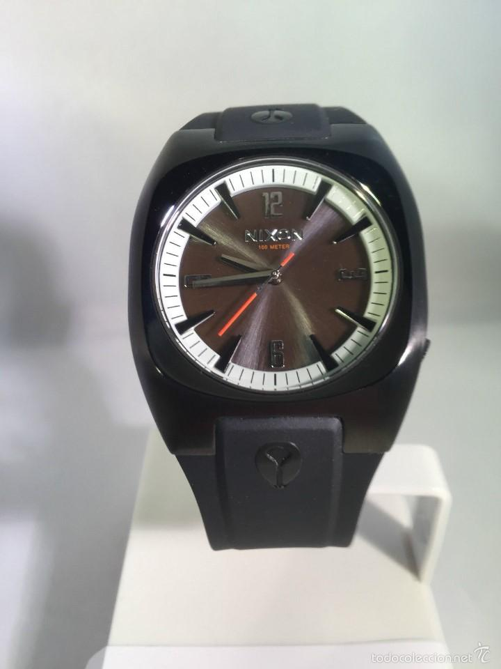 Relojes: Reloj para hombres Nixon Tach PU Negro Analógico - Foto 3 - 58485202