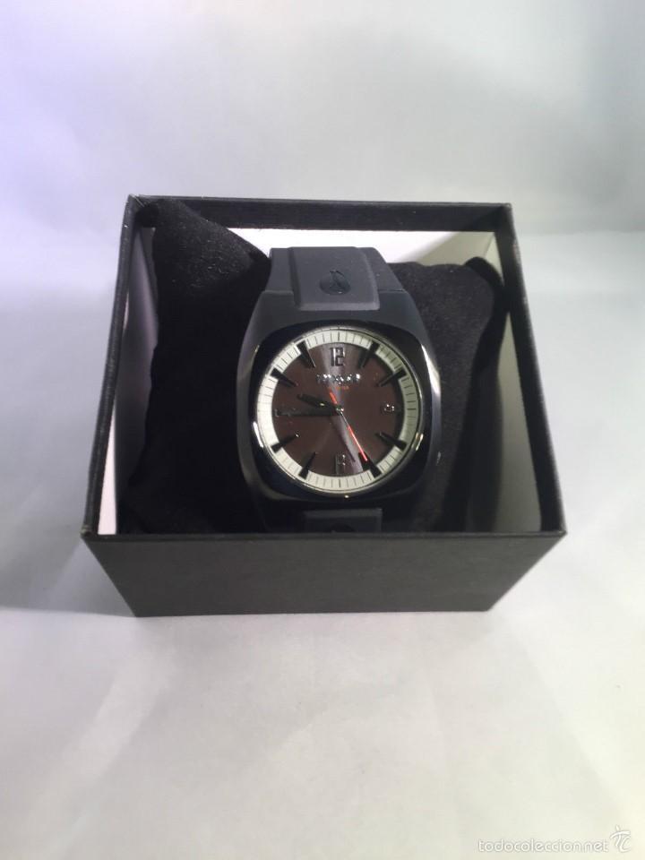 Relojes: Reloj para hombres Nixon Tach PU Negro Analógico - Foto 8 - 58485202
