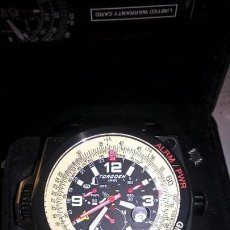 Relojes: RELOJ TORGOEN GMT PARA PILOTOS. Lote 58496173