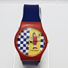 Relojes: RELOJ PUBLICIDAD DE CERVEZA CRUZCAMPO. Lote 58529864
