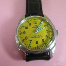 Relojes: RELOJ-ROAMER-BUEN ESTADO-IRÍA CON CORREA DE PIEL ORIGINAL-MUY BUEN ESTADO-VER FOTOS.. Lote 57921552