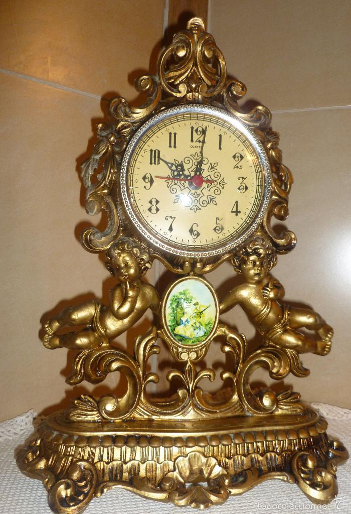 RELOJ SOBREMESA * EMES * MADE IN GERMANY - MEDIDAS 40 X 30 - (Relojes - Relojes Actuales - Otros)