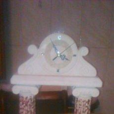 Relojes: PRECIOSO RELOJ DE PIEDRA NATURAL,PILARES DE GRECIA. FUNCIONA PERFECTAMENTE A PILA.. Lote 58790391