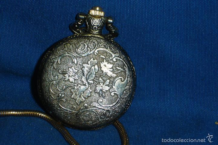 Relojes: -RELOJ DE BOLSILLO PHILLIPPE ARNOL CON LEONTINA - QUARTZ - Foto 2 - 194267457