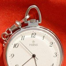 Relojes: ELEGANTE RELOJ DE BOSILLO SUIZO MARCA POTENS 7 RUBIS SWISS MADE VINTAGE AÑOS 90. Lote 59533971