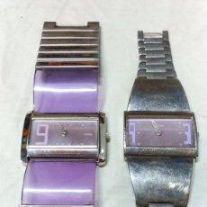 Relojes: LOTE 2 RELOJES PULSERA STORM, EN FUNCIONAMIENTO, CON PILA NUEVA.. Lote 60912379