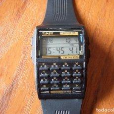 Relojes: RELOJ DIGITAL TIMEX CON CALCULADORA BANCO DE DATOS, ALARMA Y MÁS... COMO NUEVO. Lote 61824900