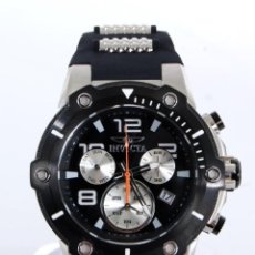 Relojes: INVICTA SPEEDWAY HOMBRE 51MM CORREA DE SILICONA NEGRO, CRONÓGRAFO ACERO INOXIDABLE. Lote 62872796