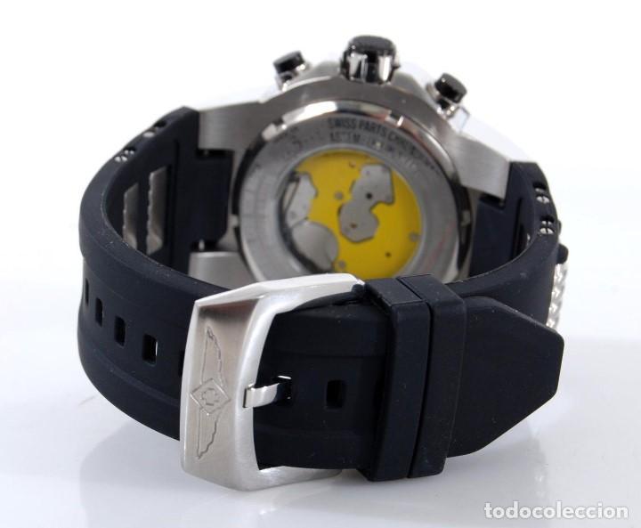 Relojes: Invicta Speedway hombre 51mm Correa de Silicona Negro, Cronógrafo Acero Inoxidable - Foto 4 - 62872796