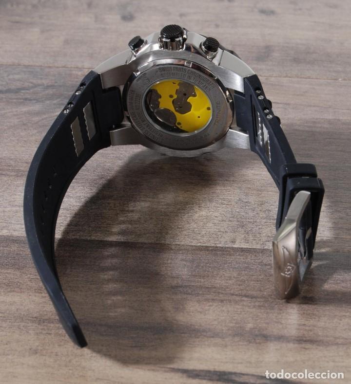 Relojes: Invicta Speedway hombre 51mm Correa de Silicona Negro, Cronógrafo Acero Inoxidable - Foto 6 - 62872796