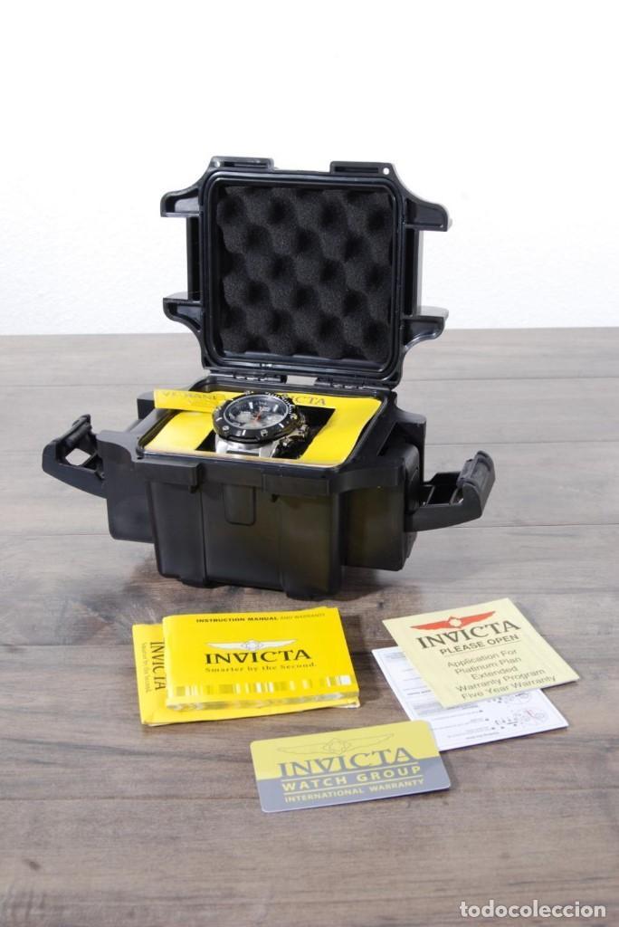 Relojes: Invicta Speedway hombre 51mm Correa de Silicona Negro, Cronógrafo Acero Inoxidable - Foto 10 - 62872796