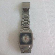 Relojes: RELOJ DE PULSERA. FUNCIONANDO. DESCONOZCO EL MODELO. STAINLESS STEEL BACK. JAPAN MOVT.. Lote 63183320
