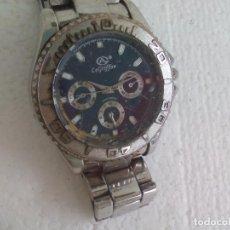 Relojes: RELOJ DE PULSERA. LEGRIFFON FUNCIONANDO. STAINLESS STEEL . Lote 69079010