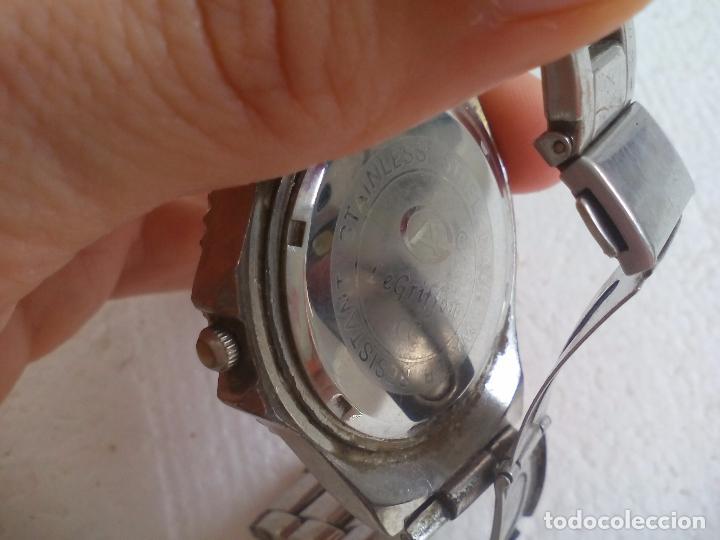 Relojes: Reloj de pulsera. LeGriffon Funcionando. Stainless Steel - Foto 4 - 69079010