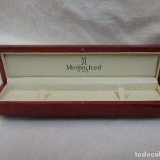 Relojes: CAJA DE MADERA VACIA DE RELOJ MARCA MONTRICHARD . Lote 64994263