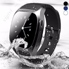 Relojes: R-WATCH M26 SMART DEPORTES PULSERA RELOJ ANTIROBO BLUETOOTH 4.0 ANDROID-IPHONE .NUEVO. Lote 174432098