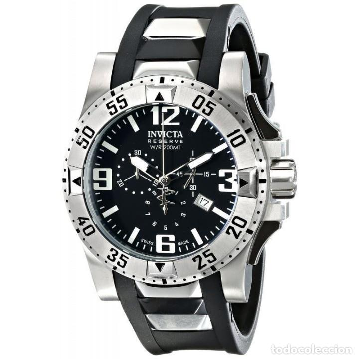 estética de lujo diseño profesional correr zapatos Invicta Reserve Excursion Men's Chronograph Watch Swiss Made