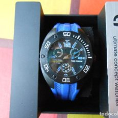 Relojes: RELOJ DE CABALLERO TIME FORCE CON SU CAJA E INSTRUCCIONES.. Lote 67187069