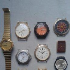 Relojes: LOTE DE 10 RELOJES DE CUARZO. PARA CABALLERO.. Lote 67505721