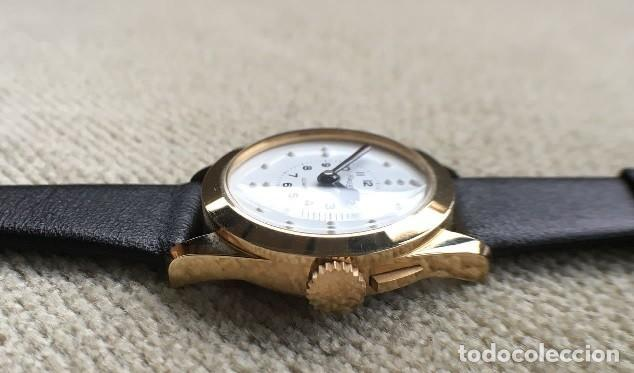 Relojes: BONITO RELOJ DE SEÑORA PARA CIEGOS CON ESFERA BLANCA BRAILLE AÑOS 80 PERFECTO ESTADO - Foto 3 - 228043235