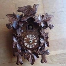 Relojes: RELOJ SCHNEIDER ALEMAN DE PARED.NUEVO.MADERA.. Lote 68771037