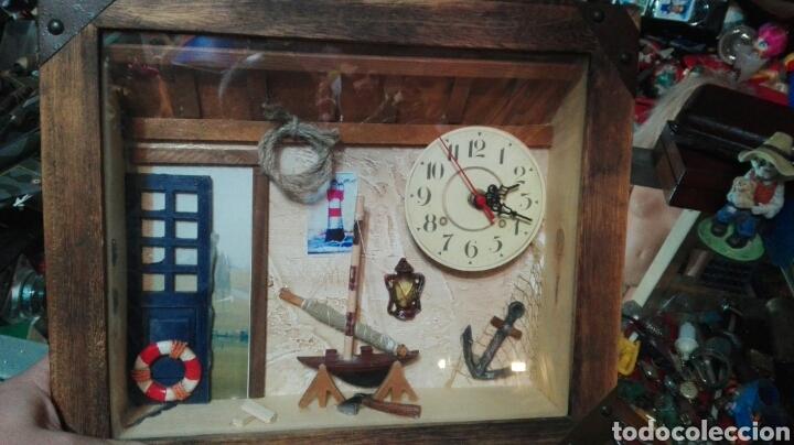 COMPOSICION MARINERA RELOJ (Relojes - Relojes Actuales - Otros)