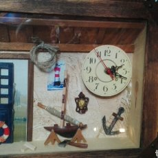 Relojes: COMPOSICION MARINERA RELOJ. Lote 68866173