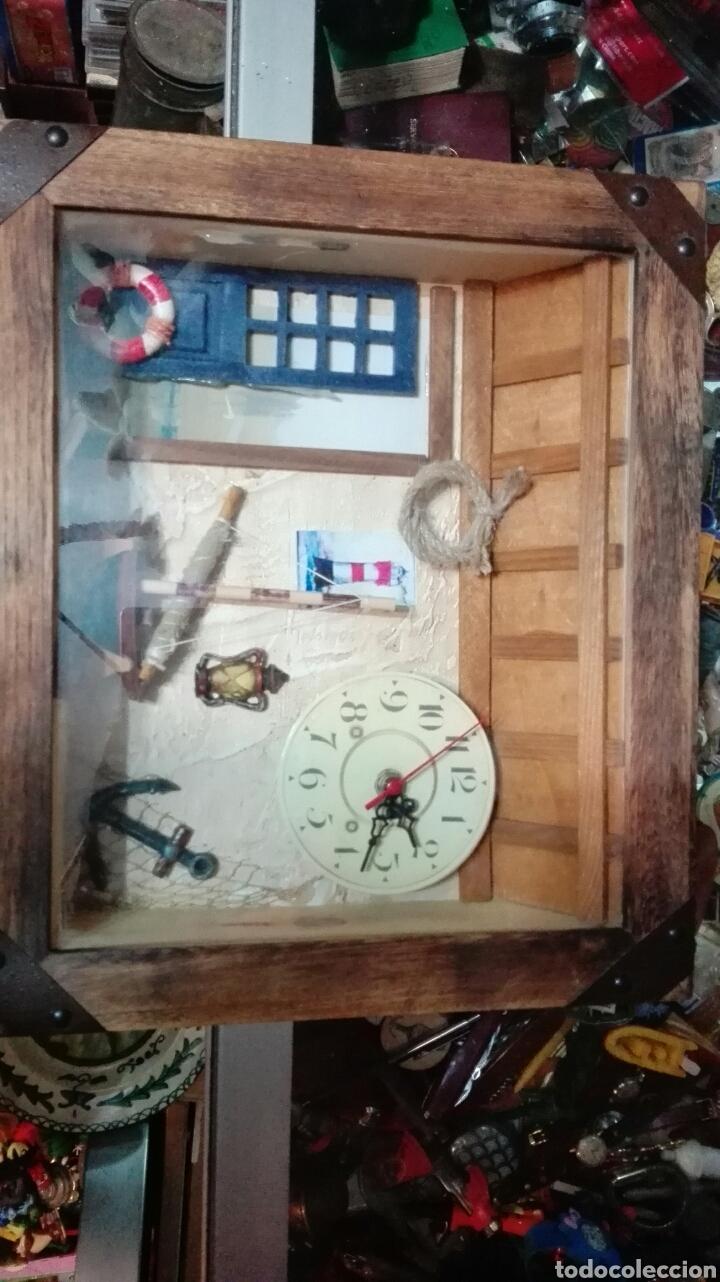 Relojes: Composicion marinera reloj - Foto 2 - 68866173