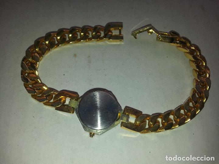 Relojes: reloj quartz preciosa correa dorada - Foto 2 - 70000261