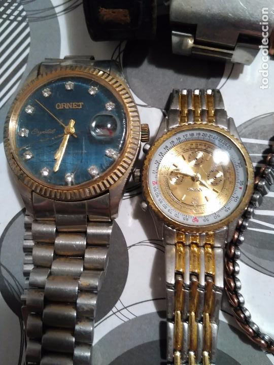 mejor selección aaba4 c1aad Lote de 6 relojes neyka,digital,ornet,etc desco - Sold at ...