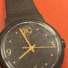 Relojes: RELOJ DE PULSERA BC BANCO CENTRAL QUARTZ SEGUN FOTOS. LA CAJA MIDE 3CM DE DIAMETRO APROX.. Lote 165363586