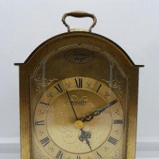 Relojes: RELOJ DE BRONCE RADIANT TEMPUS FUGIT .. Lote 71912759