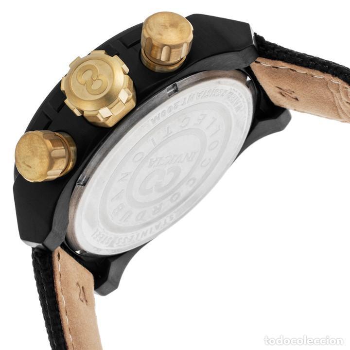 Relojes: Invicta Corduba Cronógrafo Dial Negro Correa de Nylon Negro - Foto 3 - 142063922